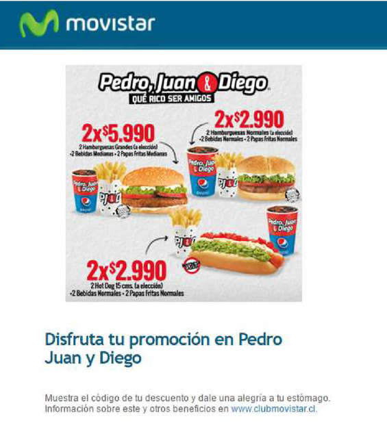 Ofertas de Movistar, beneficios