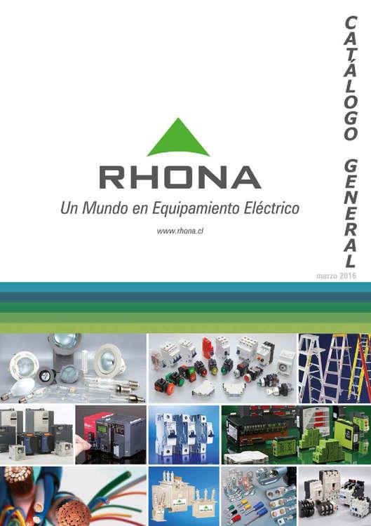 Ofertas de Chilemat, catálogo general rhona