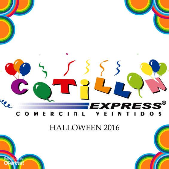 Ofertas de Cotillón Express, halloween 2016