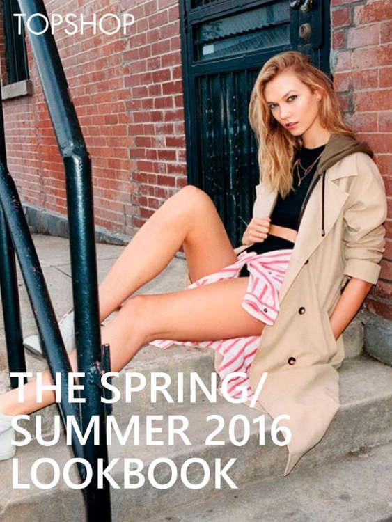 Ofertas de TOPSHOP, The spring/summer 2016