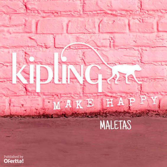 Ofertas de Kipling, maletas
