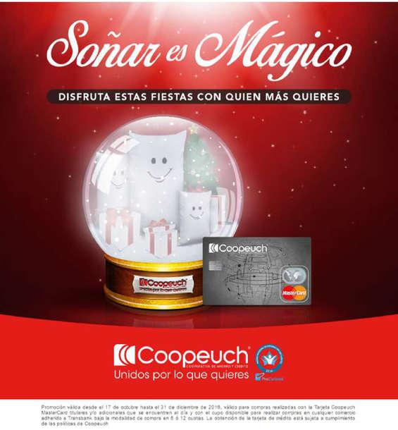 Ofertas de Banco Coopeuch, soñar es mágico