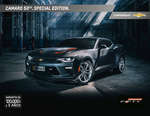 Ofertas de Chevrolet, Catalogo Camaro 50th