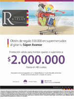 Ofertas de Banco Ripley, SuperAvance