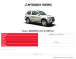 Ofertas de Mitsubishi, Mitsubishi montero 3.2 AT 3 puertas