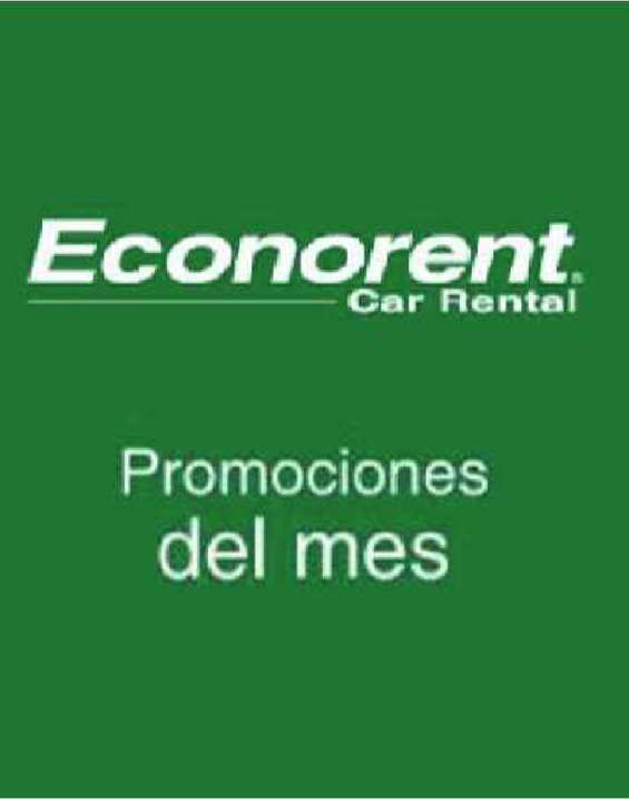 Ofertas de Econorent, promo good morning