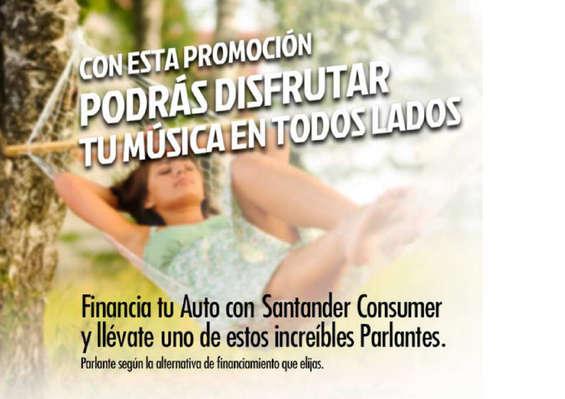 Ofertas de Parque Automotríz, promo música