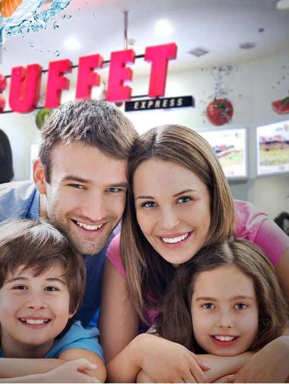Ofertas de Buffet Express, platos buffet