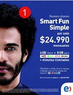 Ofertas de Entel, smart fun simple