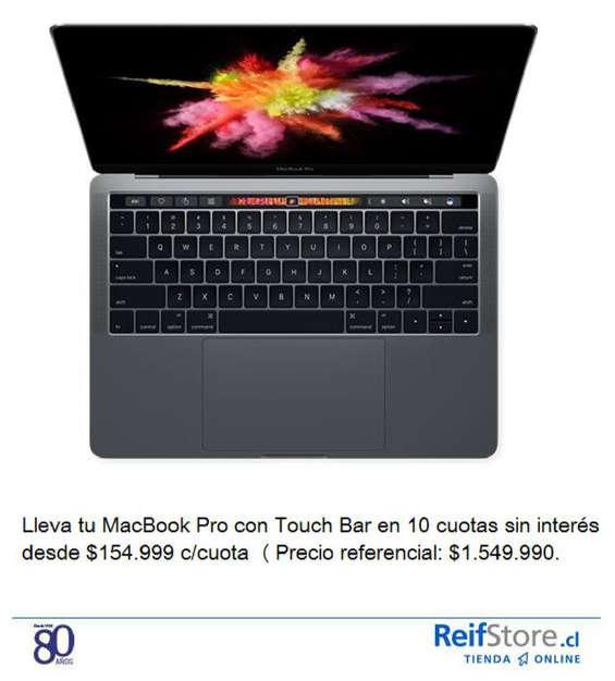 Ofertas de Reifstore, Nueva MacBook Pro