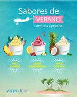 Ofertas de Yogen Früz, sabores de verano
