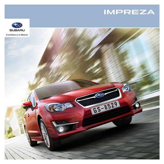 Ofertas de Subaru, Impreza