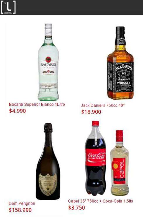 Ofertas de Liquidos, Nuevos Precios Promos