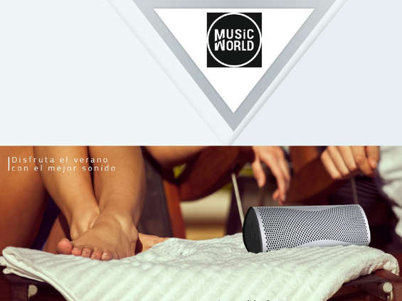 Ofertas de Music World, Disfruta el verano con el mejor sonido