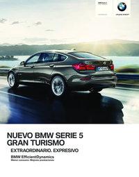 Nuevo BMW Serie 5 Gran Turismo. Extraordinario. Expresivo