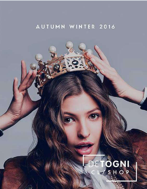 Ofertas de Detogni, autumn winter 2016