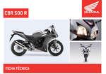 Ofertas de Honda, CBR 500 R