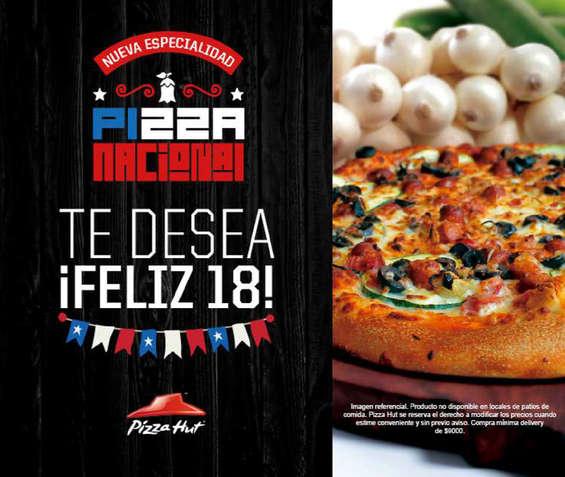 Ofertas de Pizza Hut, nuevas pizzas