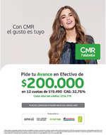 Ofertas de Banco Falabella, avance en efectivo