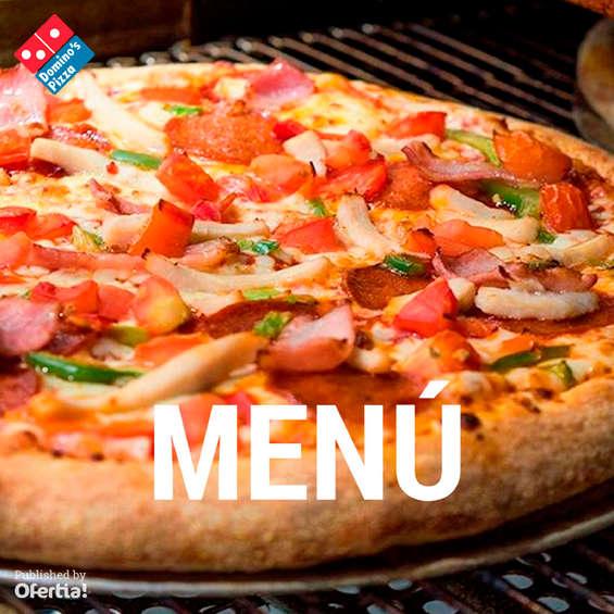 Ofertas de Domino's Pizza, Menú