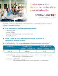 Plan Scotiabank Go