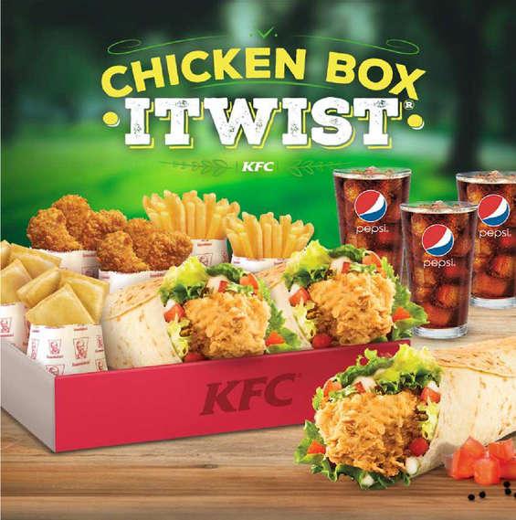 Ofertas de KFC, sabor clásico