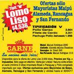 Ofertas de Doña Carne, mayorista comunas