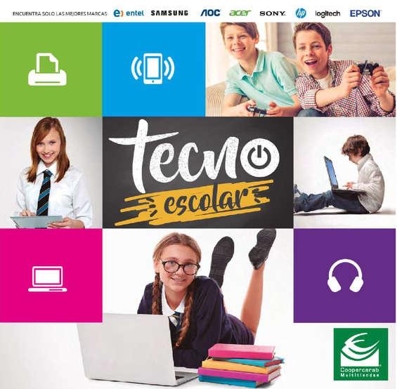 Ofertas de Coopercarab, tecno escolar