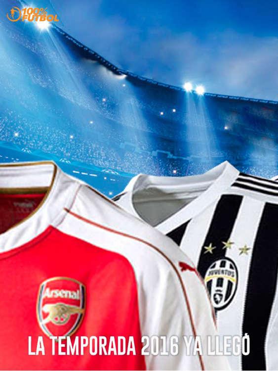 Ofertas de 100x100 Futbol, Camisetas Temporada 2016