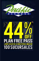 Ofertas de Pacific Fitness, promo marzo