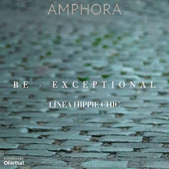 Ofertas de Amphora, línea hippie chic