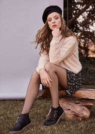 lookbook tejidos y botines