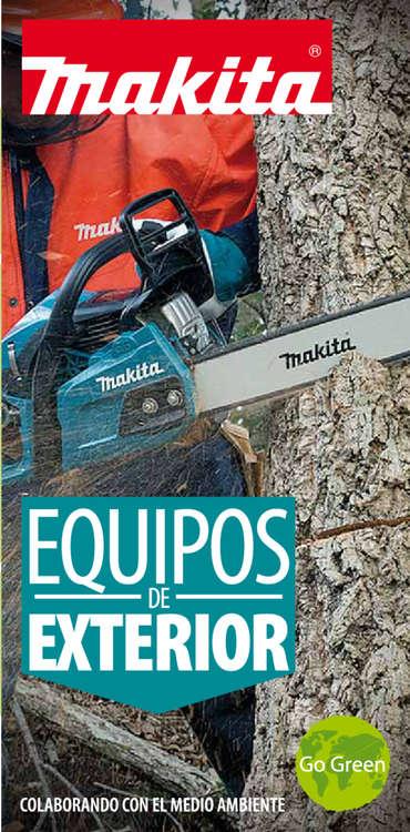 Ofertas de Makita, equipos de exterior