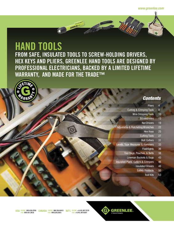 Ofertas de Feram, herramientas green lee