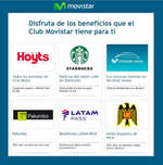 Ofertas de Movistar, beneficios club movistar