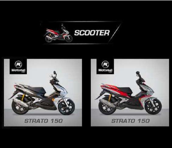 Ofertas de Motomel, nuevas scooters