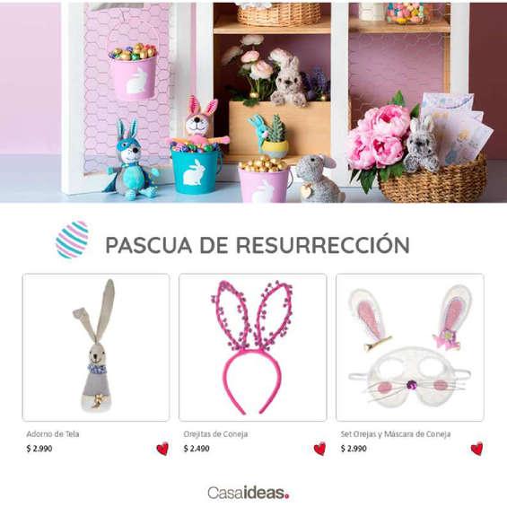 Ofertas de Casaideas, pascua de resurrección