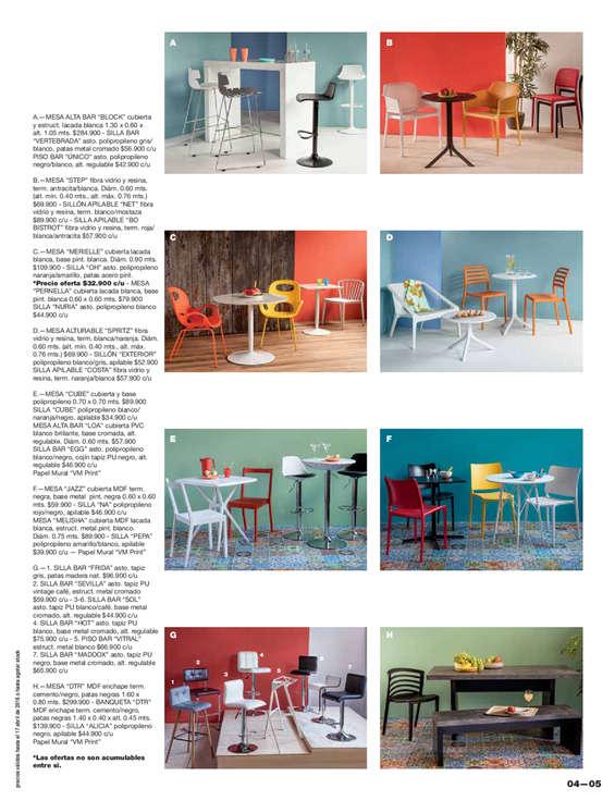 Comprar mesas de cocina en concepci n ofertas y tiendas - Ofertas mesas de cocina ...
