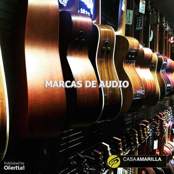 Ofertas de Casa Amarilla, marcas de audio
