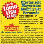 Ofertas de Doña Carne, ofertas maipú y san fernando