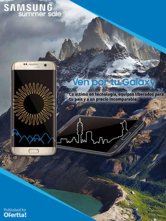 Ofertas de Samsung, summer sale