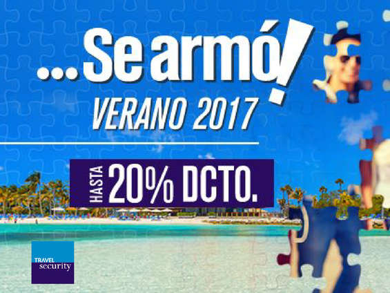 Ofertas de Security, Se Armó! verano 2017