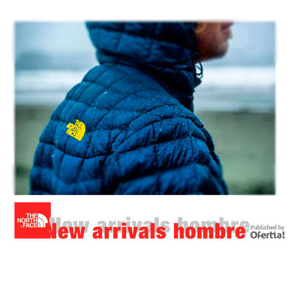 Ofertas de The North Face, new arrivals hombre