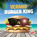 Ofertas de Burger King, verano burger