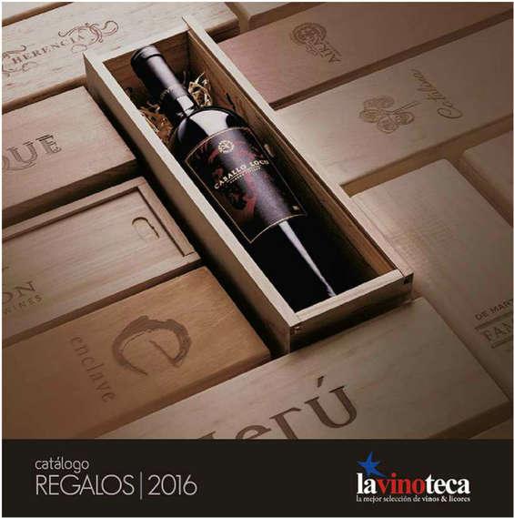 Ofertas de La Vinoteca, Catálogo de regalos 2016