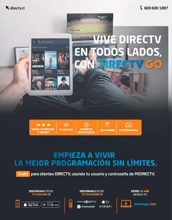 Ofertas de DIRECTV, Directv GO