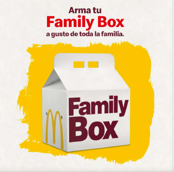 Ofertas de McDonald's, Family box