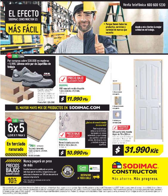 Ofertas de HomeCenter Sodimac, El efecto Sodimac Constructor