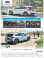 Ofertas de Subaru, Subaru impreza