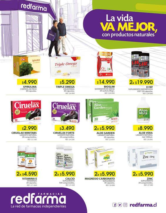 Ofertas de Farmacias Redfarma, Volante Naturales